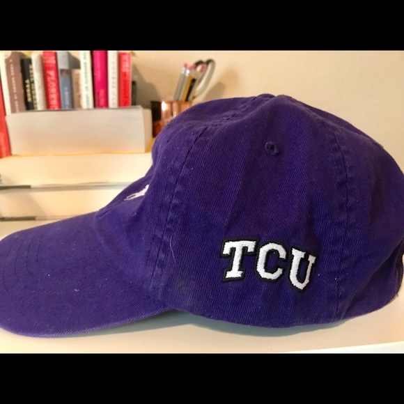 ... amazon purple tcu ralph lauren baseball hat womens cdc02 0f6f8 ... bef698129b3